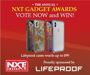 NXT Award voting ad