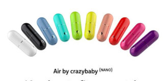 Air by crazybaby (NANO)'s range of colours