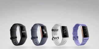 Fitbit Charge 3 range of colours
