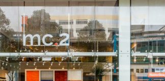 mc2 gallery shopfront