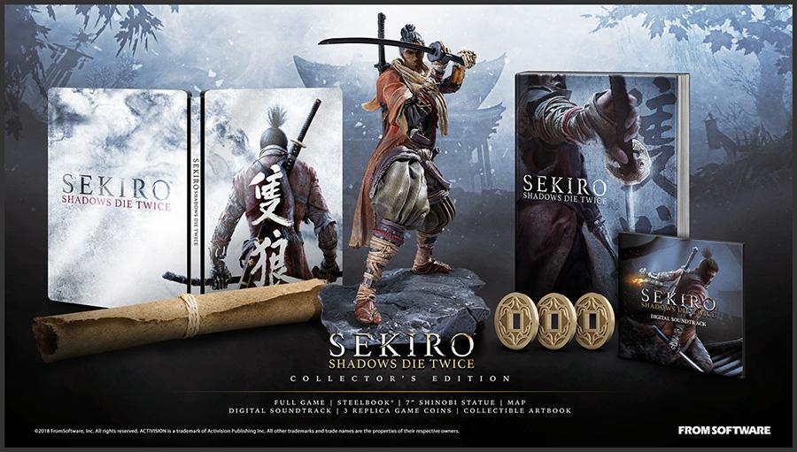 Sekiro: Shadows Die Twice Collector's Edition