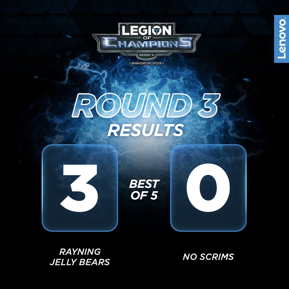 Legion of Champions - Rayning Jelly Bears