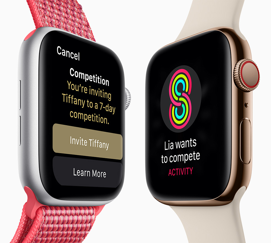 Apple Watch Series 4 competitions