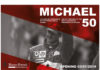 'Michael 50' exhibition poster for Michael Schumacher