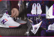 New Balance Liverpool FC 247 v2 Collab Sneaker
