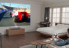 Using the LG CineBeam Laser 4K projector