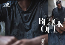 New Balance Limited Edition Liverpool FC Black Out Jersey
