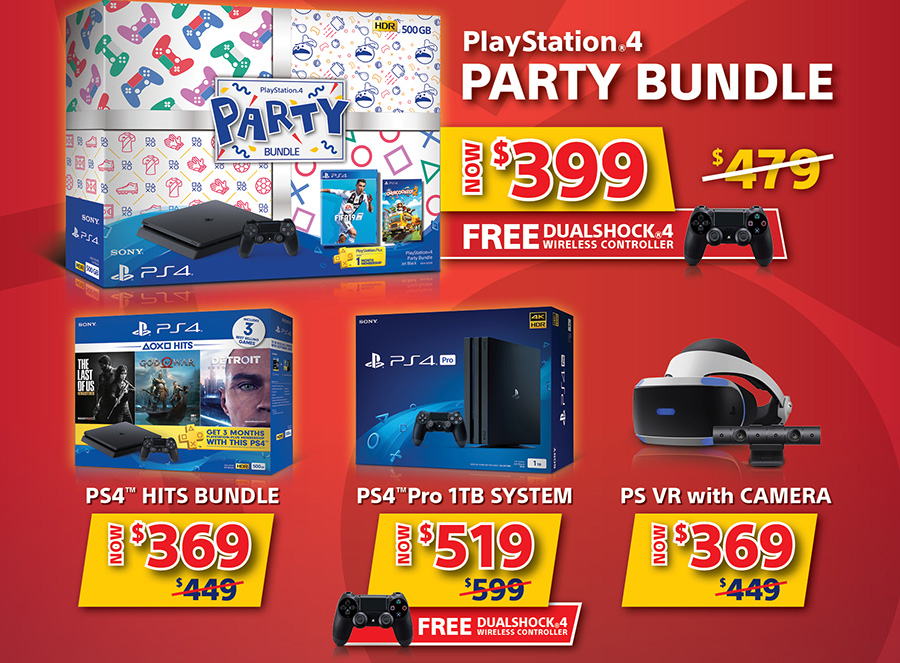 PlayStation 4 13 days special bundle