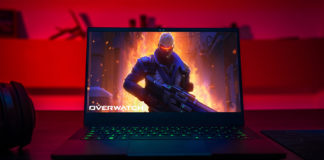 Overwatch on Razer Blade Stealth
