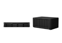 Synology Discstation DS1819+ and Rackstation RS1619xs