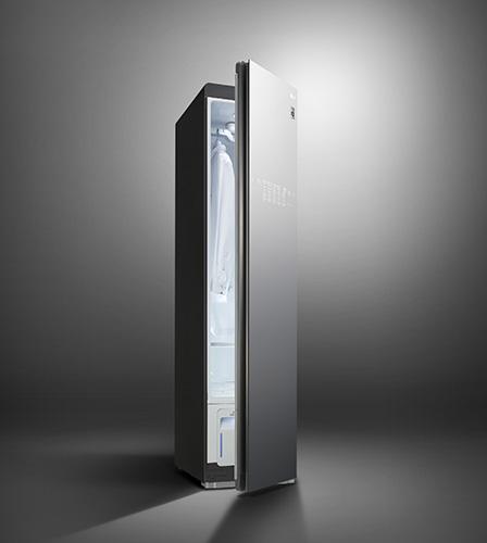 LG Styler Black Tinted Mirror Glass Door