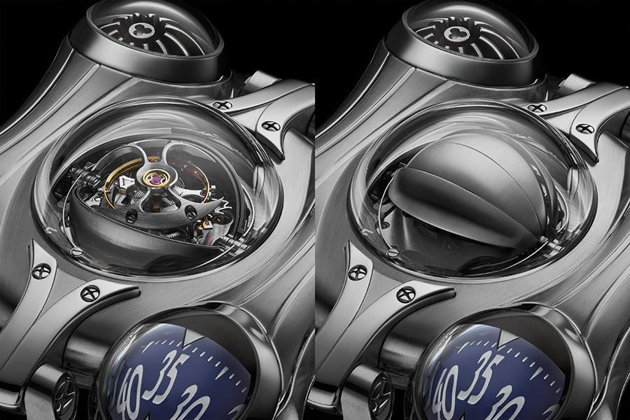 Tourbillon of Horological Machine N°6 Final Edition watch