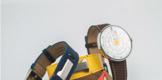 klokers watch with interchangeable straps