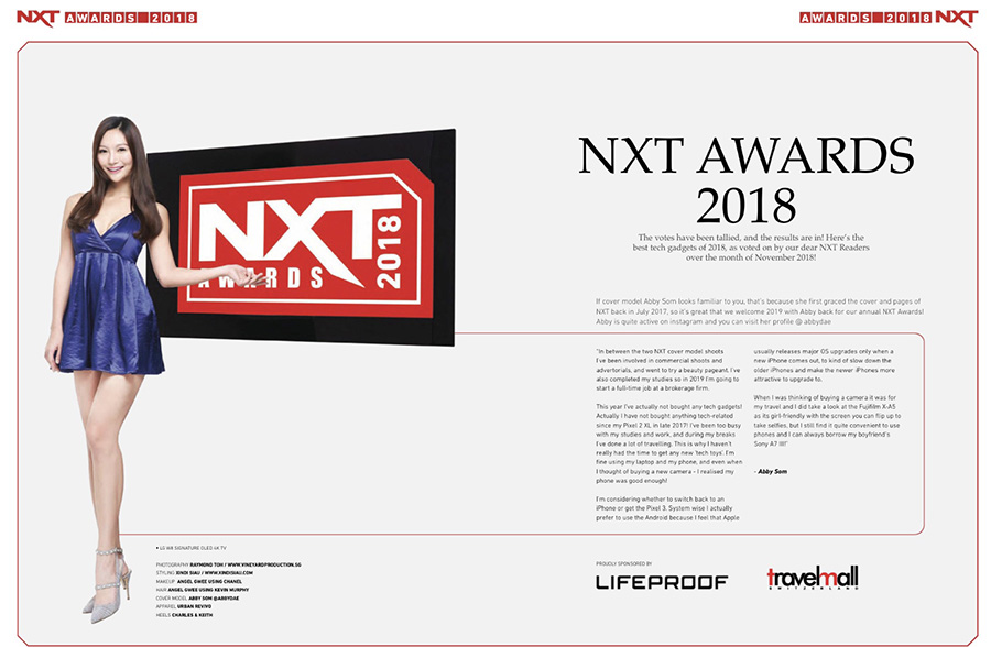 NXT January 2019 issue, NXT Awards 2018