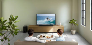 Sony's new HT-X8500 soundbars used at home