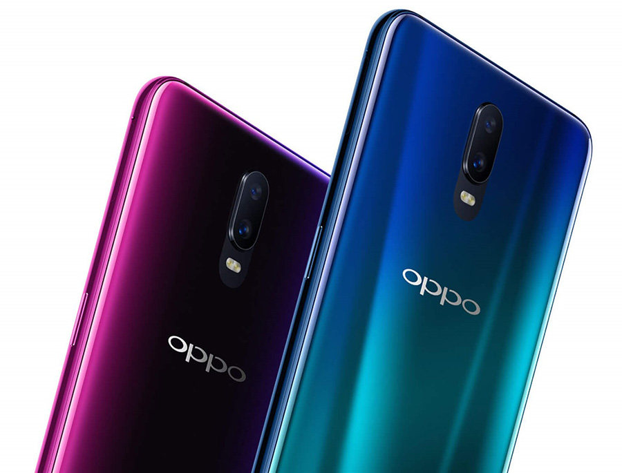 OPPO R17 designs from the back view