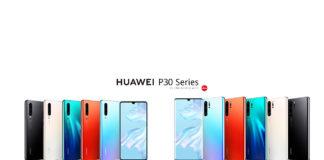 HUAWEI P30 series smartphone
