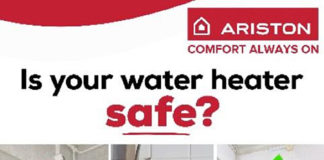 Ariston Constant Temperature Water Heater provides more safety
