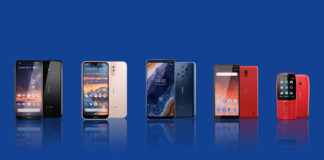 Four new Nokia smartphones introduced