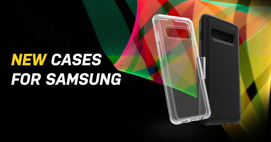 OtterBox S10, Galaxy S10+ and Galaxy S10e casesa