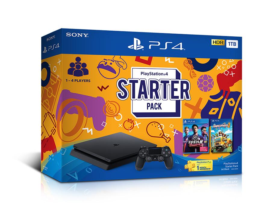 PlayStation4 starter pack box