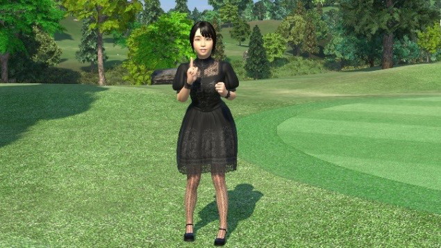 Gloria from Everybody's Golf VR