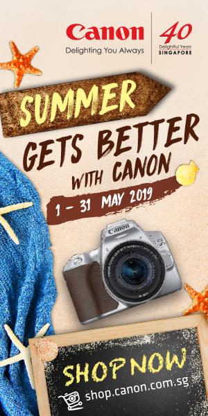 Canon Summer ad