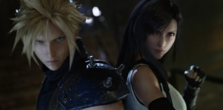 Cloud and Tifa from Final Fantasy VII Remake