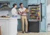 LG Slim French Door and Bottom Freezer Refrigerators