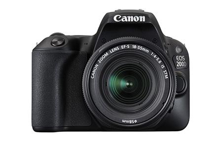 Canon EOS 200D Black