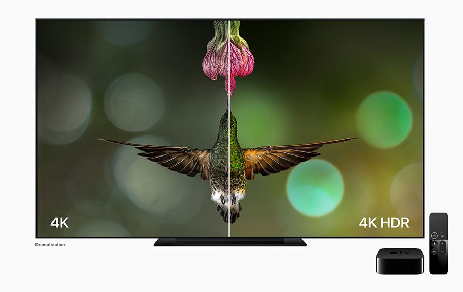 4K vs 4K HDR comparison
