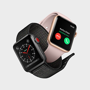 Apple Watch Series 3 and cellular data