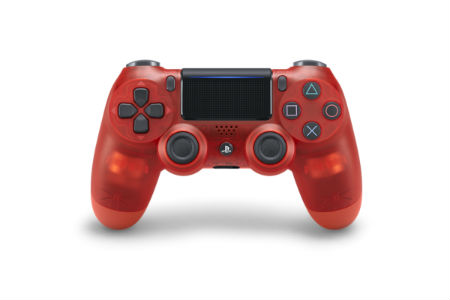 Playstation DUALSHOCK 4 Wireless Controllers red crystal