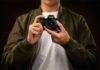 Man holding Canon PowerShot G1 X Mark III