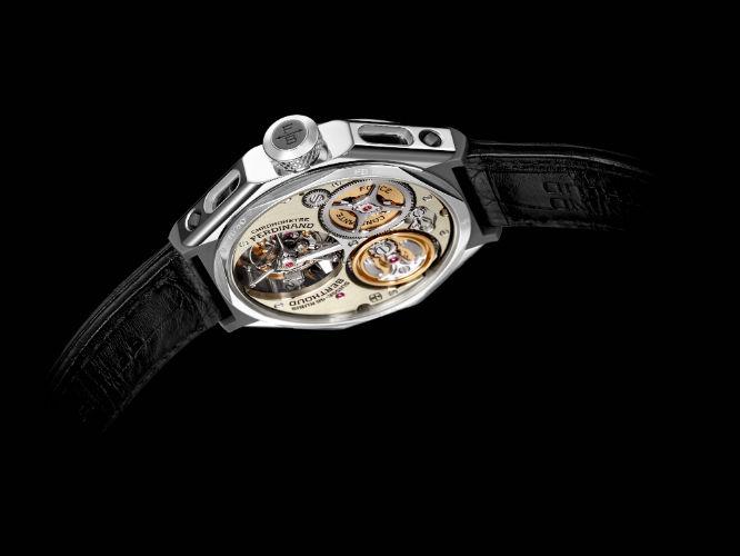Chronométre Ferdinand Berthoud 1.3 back view