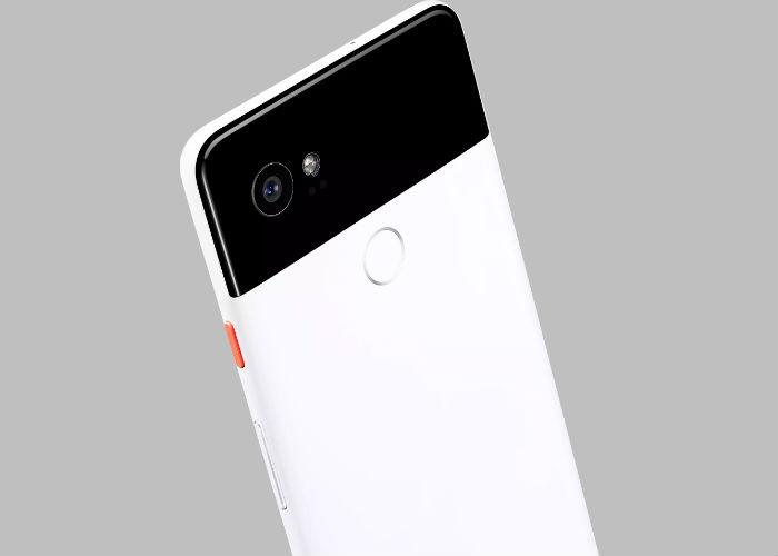 Google Pixel 2 back view