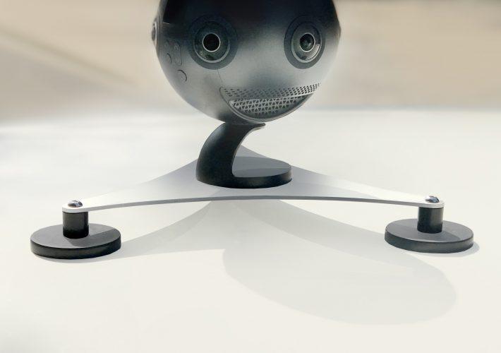 Insta360 Pro with car attachment