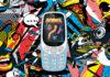 Nokia 3310 3G on cartoon background