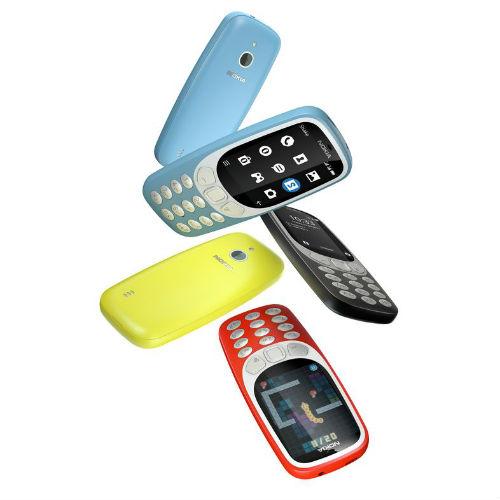 All four Nokia 3310 3G colour options