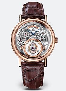 Tourbillon watch example