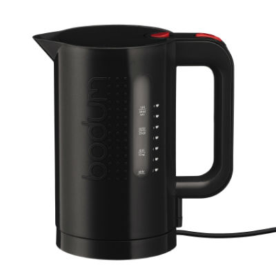 BODUM Electric BISTRO Water Kettle in black