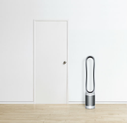 Dyson Pure Cool Link Purifier Fan next to door