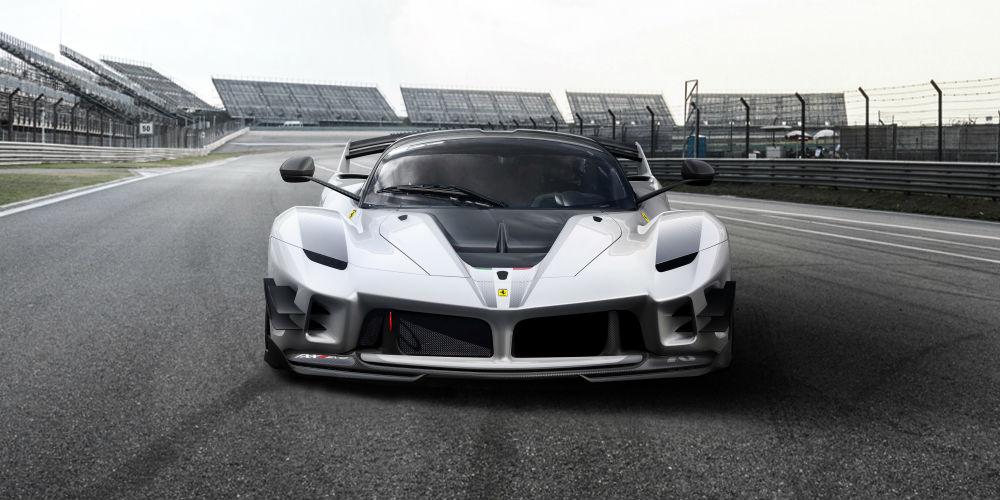 Ferrari FXX-K Evo frontal view