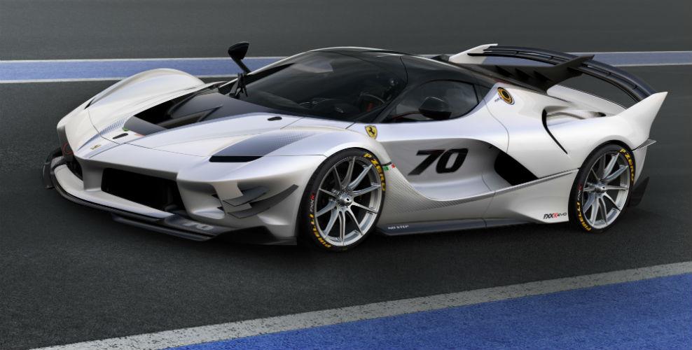 Ferrari FXX-K Evo front view