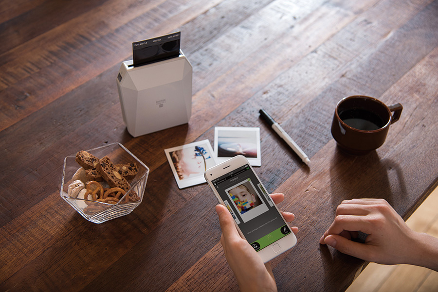 Printing from the phone with the Fujifilm Instax Share SP-3