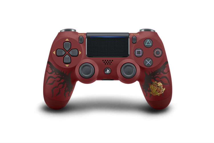 PS4 Pro Monster Hunter: World Ratholos Edition Dualshock 4 wireless controller