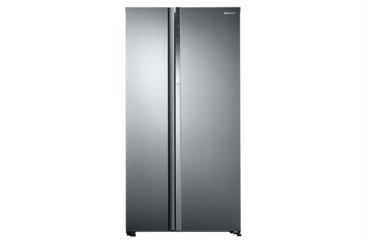 Samsung Twin Cooling Food Showcase Refrigerator Side by Side closed view