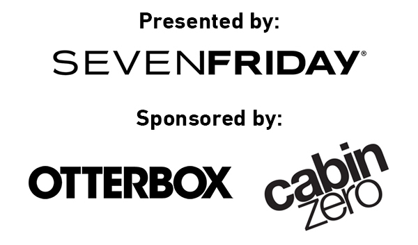 SevenFriday Otterbox Cabin Zero logos