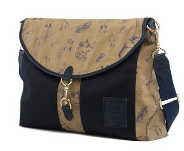 Gnome & Bow Kensington Reversible Messenger Bag