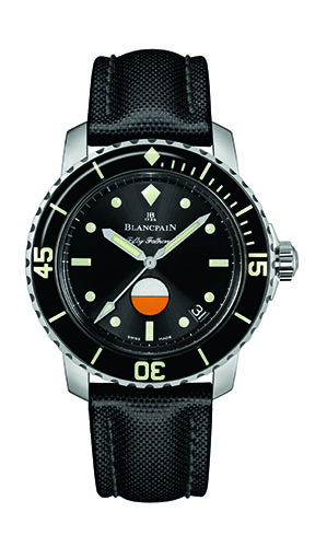 Blancpain Tribute to Fifty Fathoms MIL-SPEC dial